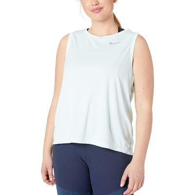 Nike - Nike Teal Tint/Reflective Silver Dry Miler Tank (Size 1X-3X)