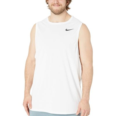 Nike - Nike White/Black Big & Tall Superset Top Tank
