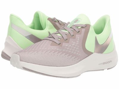Nike - Nike Women Barely Volt/Pumice/Phantom/Vapor Green Zoom Winflo 6 Running Shoes