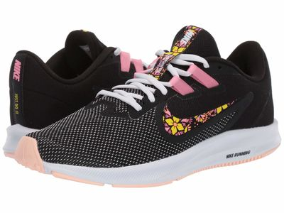 Nike - Nike Women Black/Lotus Pink/White/Crimson Tint Downshifter 9 Se Running Shoes