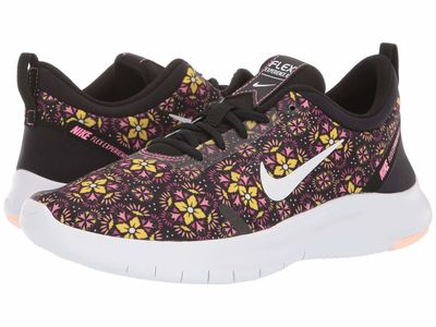 Nike - Nike Women Black/White/Lotus Pink/Crimson Tint Flex Experience Rn 8 Se Running Shoes