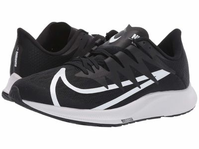Nike - Nike Women Black/White/Vast Grey Zoom Rival Fly Running Shoes