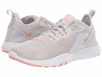 Nike - Nike Women Vast Grey/Pink Quartz/Echo Pink/White Flex Tr 9 Athletic Shoes