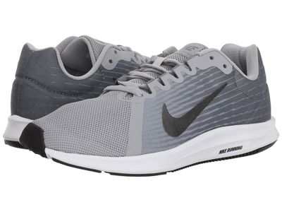 Nike - Nike Women Wolf Grey/Metallic Dark Grey/Cool Grey/Black Downshifter 8 Running Shoes