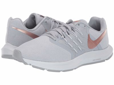 Nike - Nike Women Wolf Grey/Metallic Red Bronze/White Run Swift Premium Running Shoes
