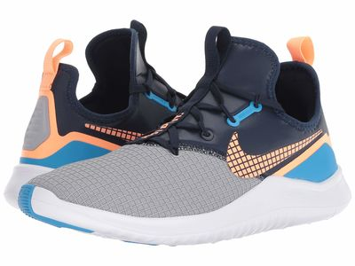 Nike - Nike Women Wolf Grey/Orange Pulse/Blue Glow Free Tr 8 Neo Athletic Shoes