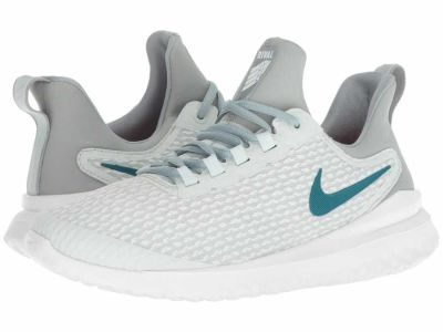 Nike - Nike Women's Barely Grey Geode Teal Hot Punch Renew Rival Running Shoes