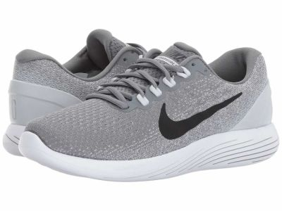 Nike - Nike Women's Cool Grey Black Pure Platinum White LunarGlide 9 Running Shoes
