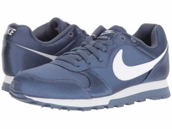 Nike Women's Diffused Blue White MD Runner 2 Lifestyle Sneakers - Thumbnail
