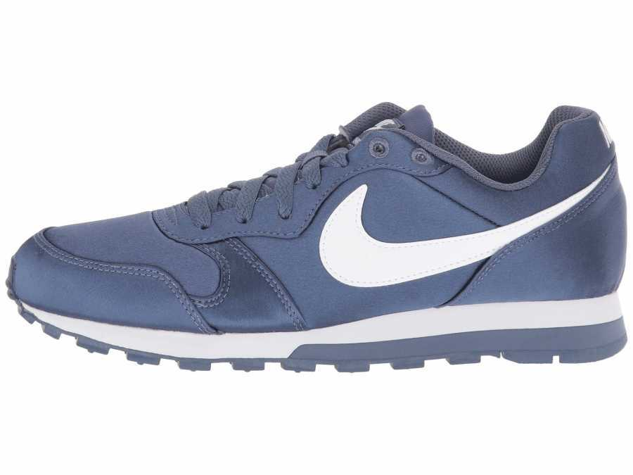 Nike Women's Diffused Blue White MD Runner 2 Lifestyle Sneakers