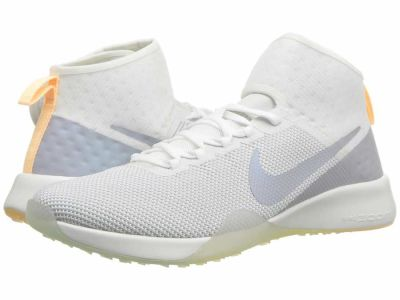 Nike - Nike Women's Summit White Wolf Grey Pure Platinum Air Zoom Strong 2 Rise Athletic Shoes