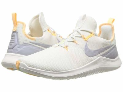 Nike - Nike Women's Summit White Wolf Grey Pure Platinum Free TR 8 Rise Athletic Shoes