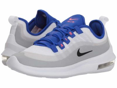 Nike - Nike Women's White Black Racer Blue Solar Red Air Max Axis Lifestyle Sneakers