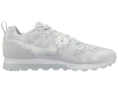 Nike - Nike Women's Wolf Grey/Pure Platinum/White MD Runner 2 BR Sneakers Athletic Shoes 8834742630210