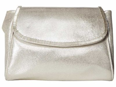 Nina - Nina White/Gold Jovie Clutch Bag
