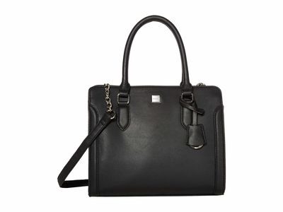 Nine West - Nine West Black 1 Coralia Me Time Satchel Handbag
