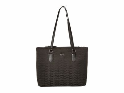 Nine West Black 1 İndie Tote Handbag
