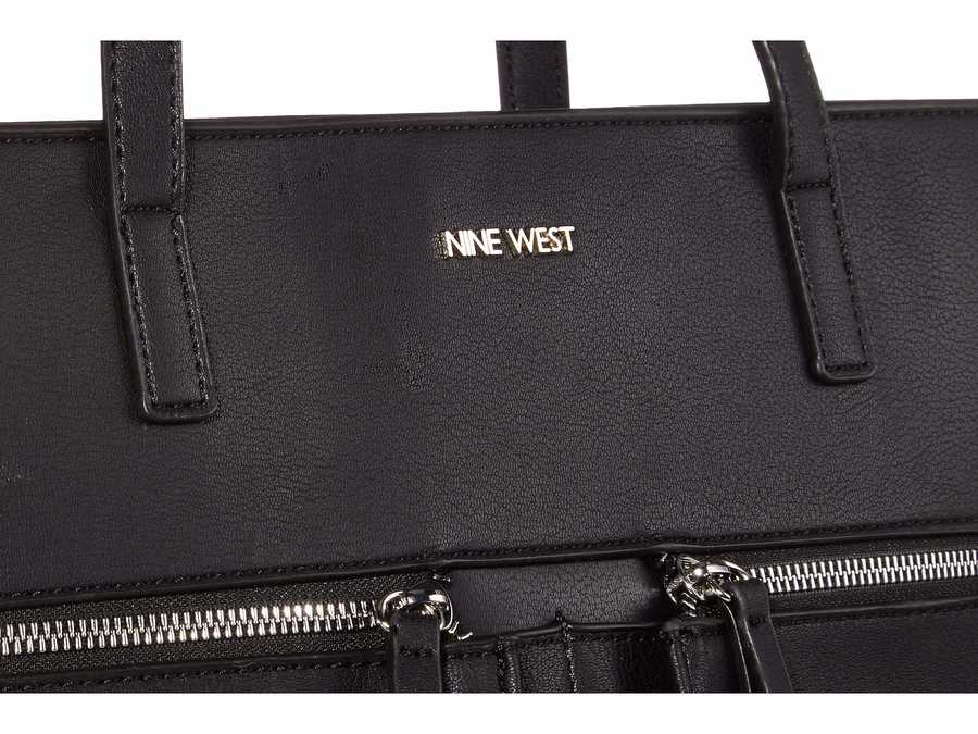 Nine West Black Coralia Yuliana Tote Handbag