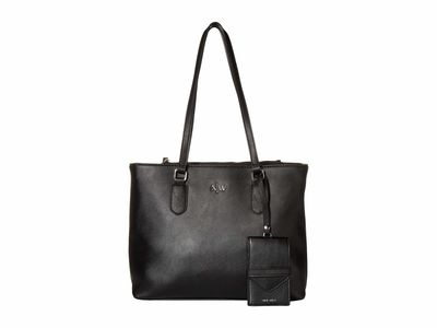 Nine West - Nine West Black İndie Tote Handbag