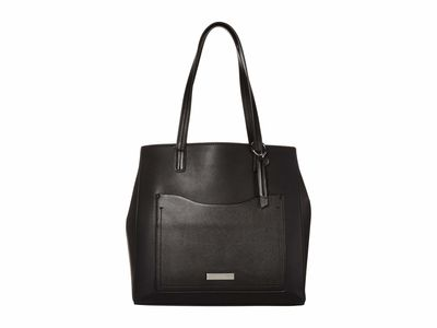 Nine West - Nine West Black Ryleigh Carryall Tote Handbag