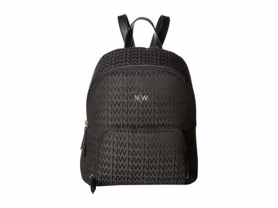 Nine West - Nine West Black/Black Floret Backpack