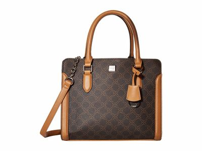 Nine West - Nine West Brown Coralia Me Time Satchel Handbag