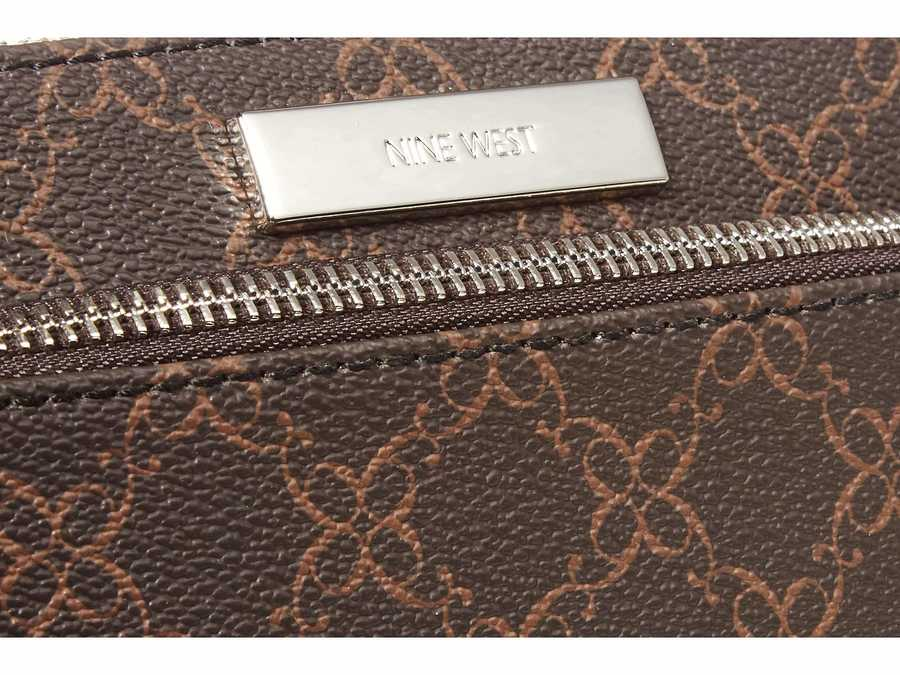 Nine West Brown Vesper Slg İtems Wristlet Coin & Card Cases Coin Card Case