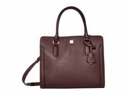 Nine West Dark Garnet Coralia Me Time Satchel Handbag - Thumbnail