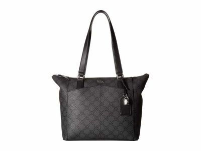 Nine West - Nine West Jet Black Atwell Tote Handbag