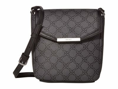 Nine West - Nine West Jet Black Haidyn Mini Cross Body Bag