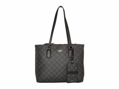 Nine West - Nine West Jet Black İndie Tote Handbag