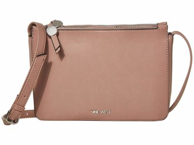 Nine West Latte Prosper Mini Nyla Cross Body Bag