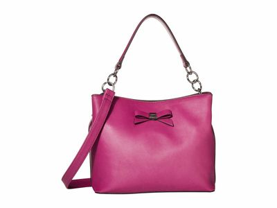 Nine West - Nine West Magenta Maile Bucket Bag Bucket Handbag