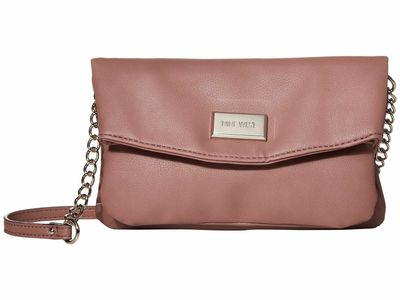 Nine West - Nine West Mauve Coralia Mini Tunnel Cross Body Bag
