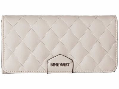 Nine West - Nine West Milk İsabell Slg Organizer Checkbook Wallet