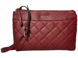 Nine West Oxblood Emmeline Mini Cross Body Bag - Thumbnail