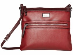 Nine West Oxblood Multi Coralia Sure Springs Cross Body Bag - Thumbnail