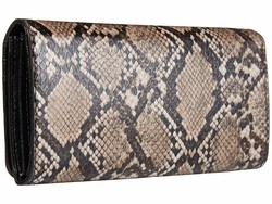 Nine West Steel Multi Vesper Slg Samira Organizer Checkbook Wallet - Thumbnail