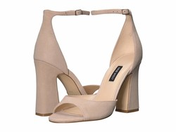 Nine West Women Barely Beige Gavyn Heeled Sandals - Thumbnail