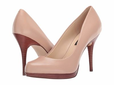 Nine West - Nine West Women Barely Nude Kristal Pumps