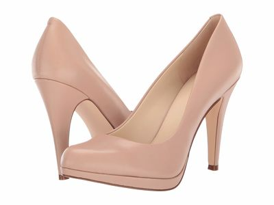 Nine West - Nine West Women Barely Nude Rocha Pumps
