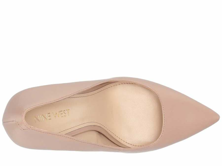 Nine West Women Barely Nude Tay 3 Pumps