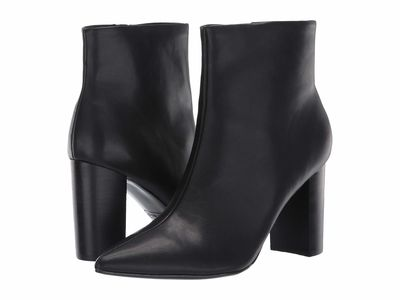 Nine West - Nine West Women Black Faniya 3 Ankle Bootsbooties