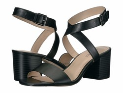 Nine West Women Black Gareth 3 Heeled Sandals - Thumbnail