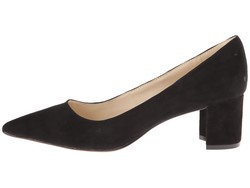 Nine West Women Black Suede İke Pumps - Thumbnail