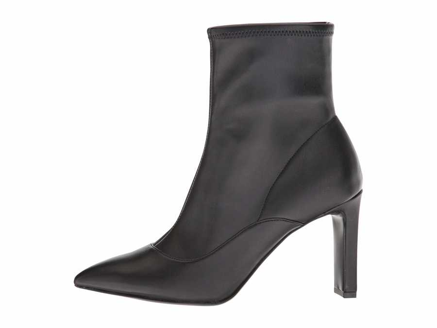 Nine West Women Black Synthetic Jesson Ankle Bootsbooties