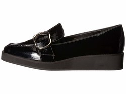Nine West Women Black Synthetic Keppme Loafers - Thumbnail