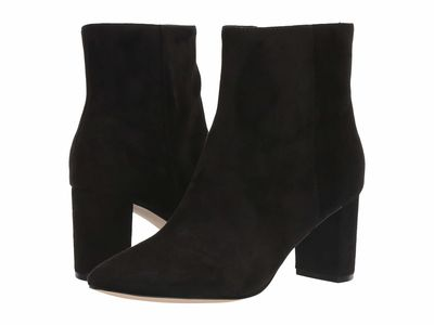 Nine West - Nine West Women Black Tally 2 Ankle Bootsbooties