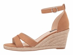 Nine West Women Cuoio Jerana Heeled Sandals - Thumbnail
