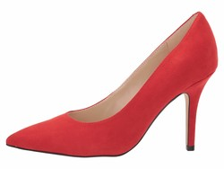 Nine West Women Fiery Red Jackpot 2 Pumps - Thumbnail